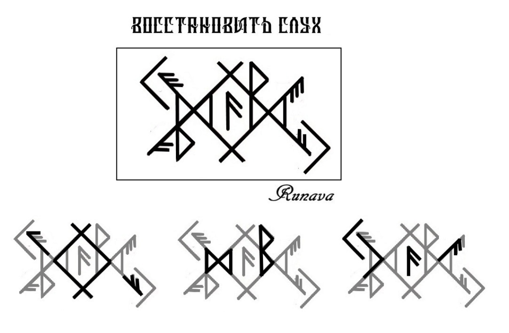 """Ставы """" Восстановить слух """" , """" Вернуть слух 1 и 2 """" от Runava  Naaaau10"""