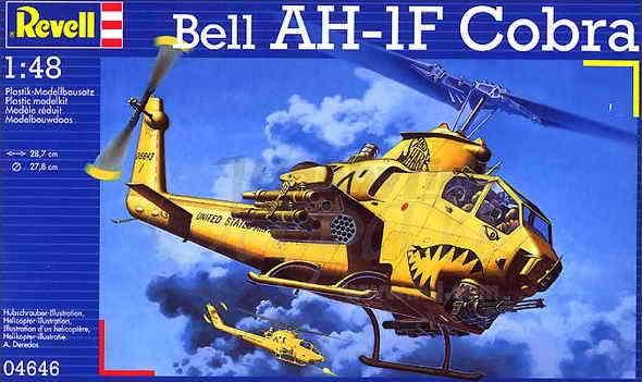 Bell AH-1F Cobra 04646 Revell 1/48 11179310