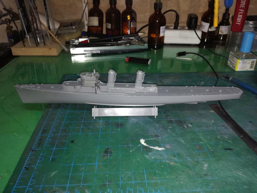 Tamiya 1/350 DD445 Fletcher Class Destroyer Img_2034