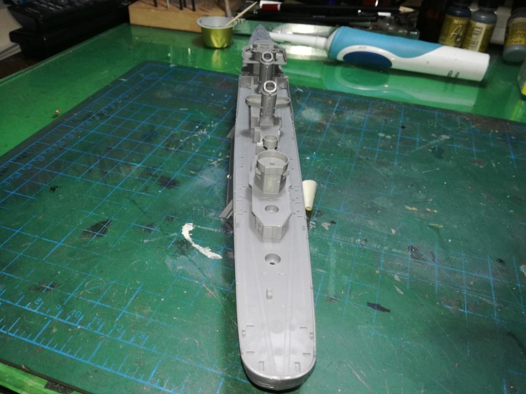 Tamiya 1/350 DD445 Fletcher Class Destroyer Img_2036