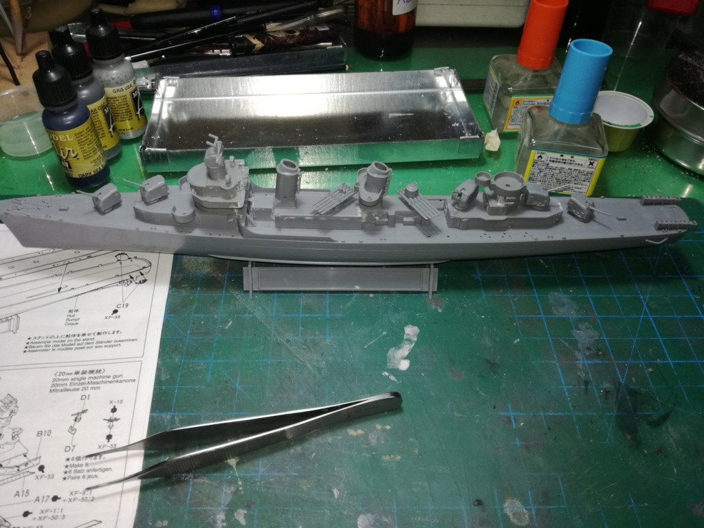Tamiya 1/350 DD445 Fletcher Class Destroyer Img_2040