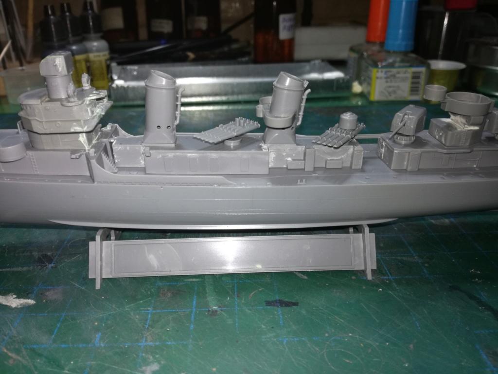 Tamiya 1/350 DD445 Fletcher Class Destroyer Img_2043