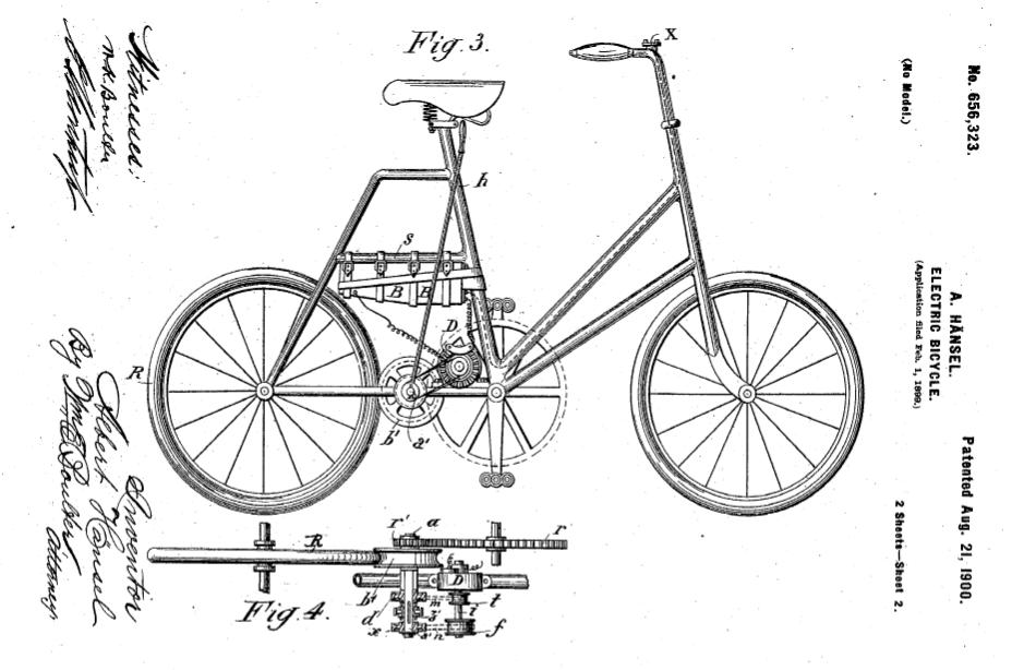 Le premier vélo électrique Veloel10