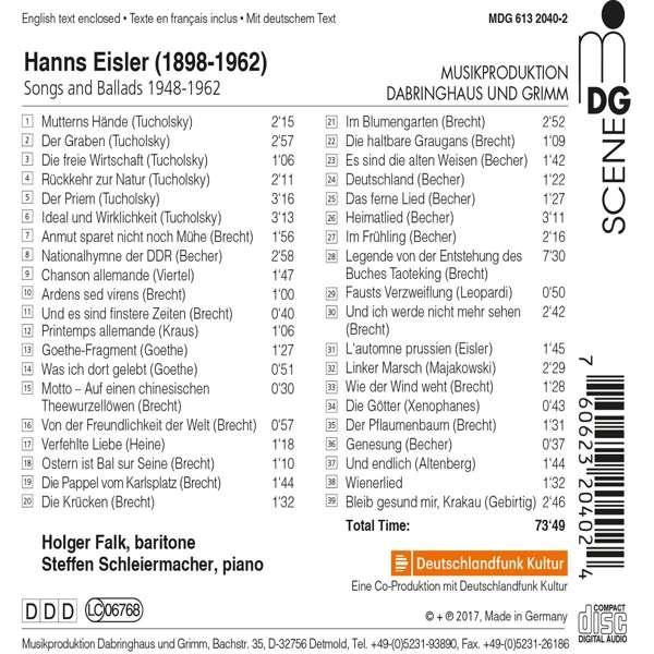 A la découverte du LIED - discographie - Page 6 07606215
