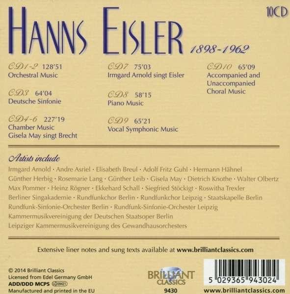 Hanns EISLER 50293611