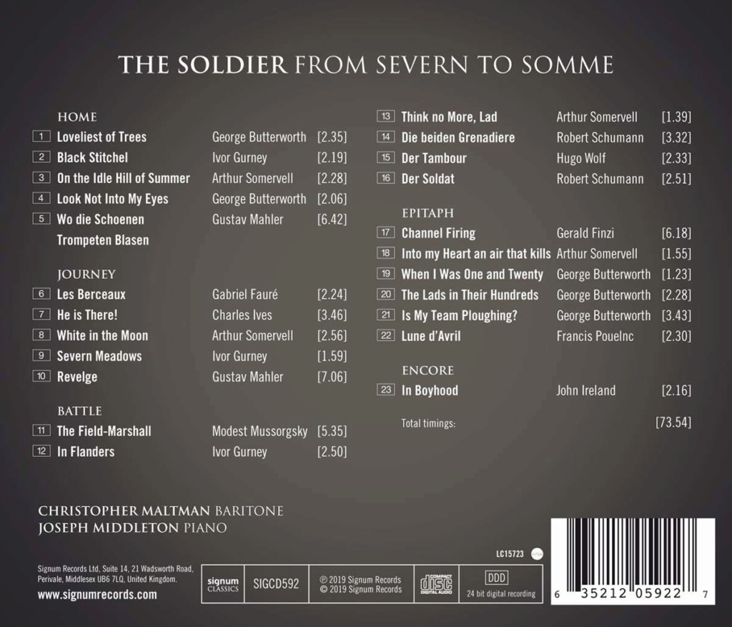 Petit guide discographique de la mélodie britannique. - Page 2 61qd3310