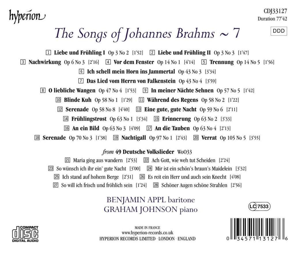 Brahms - Musique vocale (hors Requiem et Rhapsodie) - Page 2 714exl11