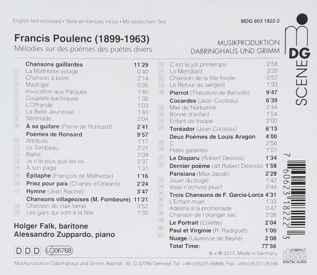 Poulenc - Mélodies et monologues - Page 2 715vf510