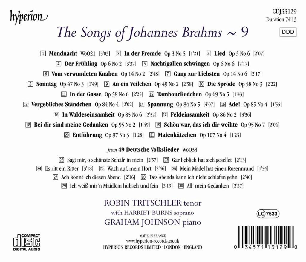 Brahms - Musique vocale (hors Requiem et Rhapsodie) - Page 2 7171ng10