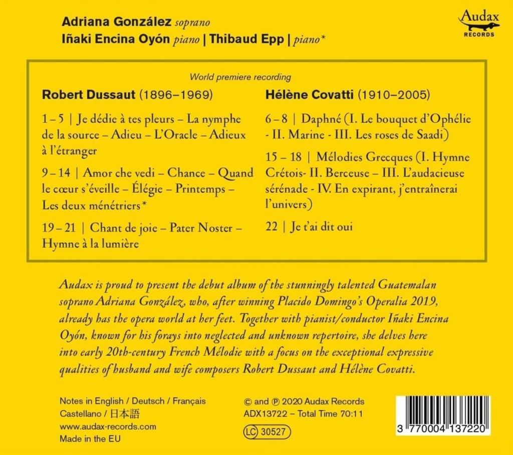 guide - Petit guide discographique de la mélodie française - Page 1 71okg810