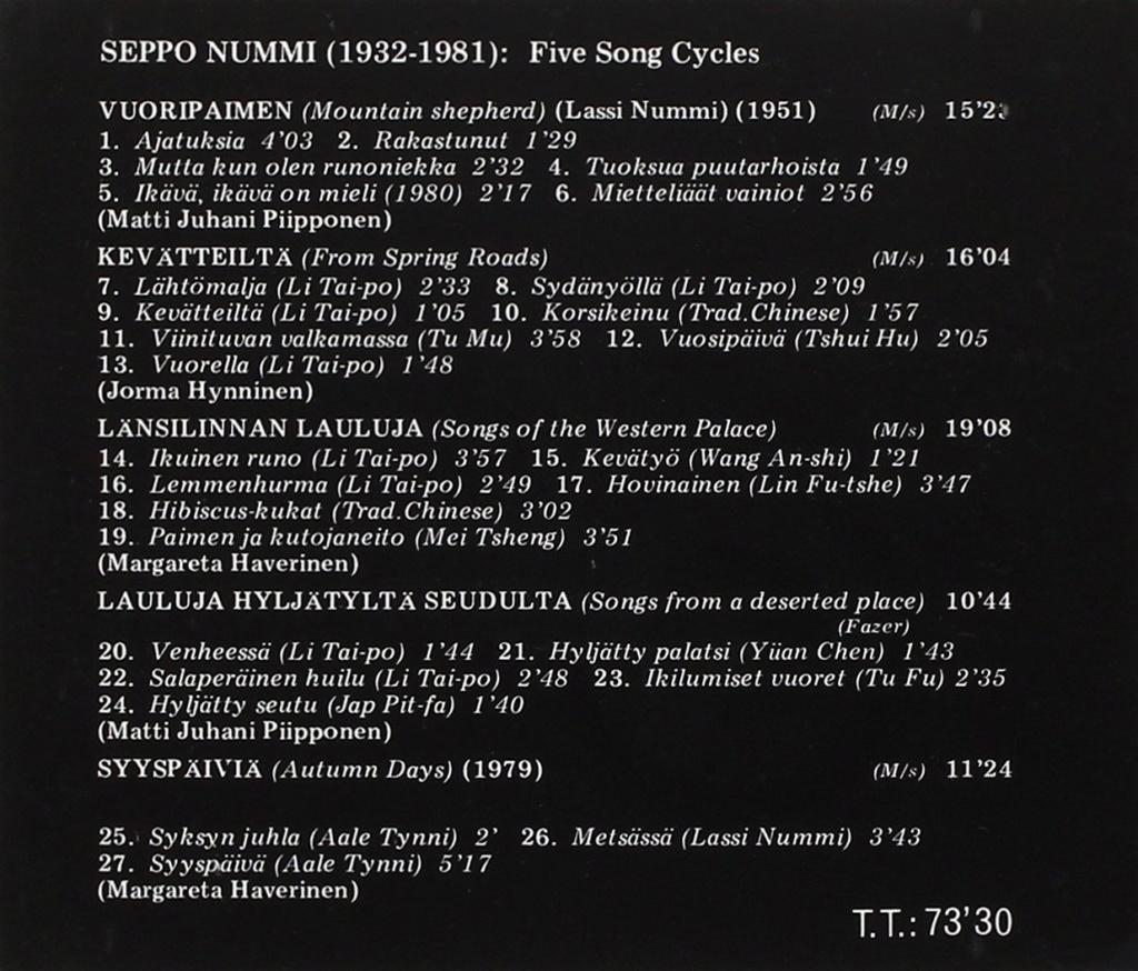 Petit guide discographique de la mélodie nordique. 71q7gr10