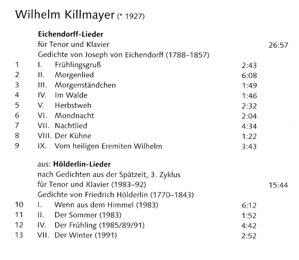 Wilhelm Killmayer ( 1927-2017 )un parcours très personnel Img_2095