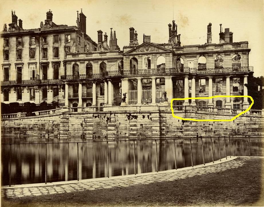 Baignoire provenant du château de Saint-Cloud, réputée avoir été utilisée par Marie-Antoinette ?  Appart34