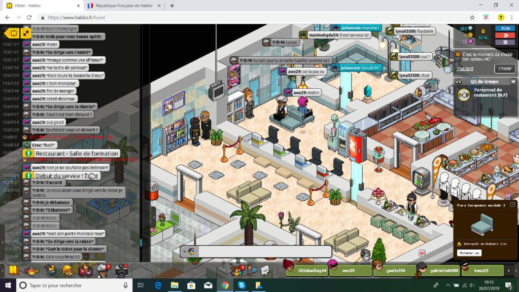 [Restaurant] Rapport D'Action Rôle Play Forma211