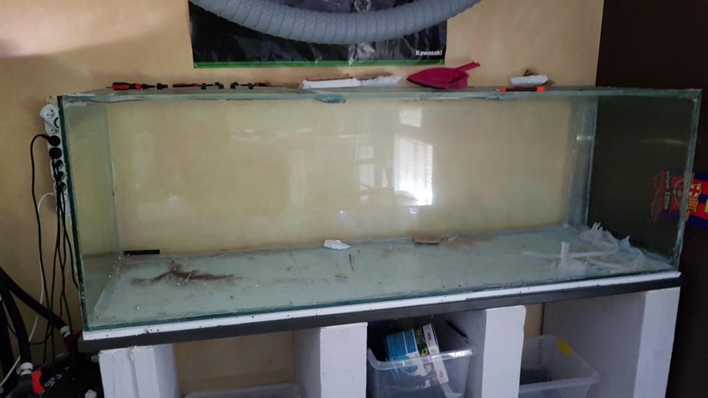 Ajout 60L - 300L - 540L - 1200L dans ma fishroom  20190726