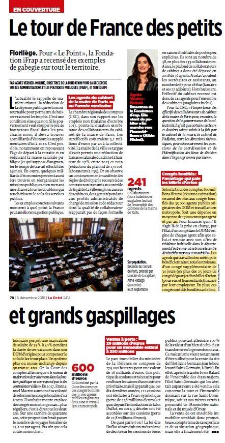 Diminution des taxes = réductions des dépenses. - Page 2 Le_poi13