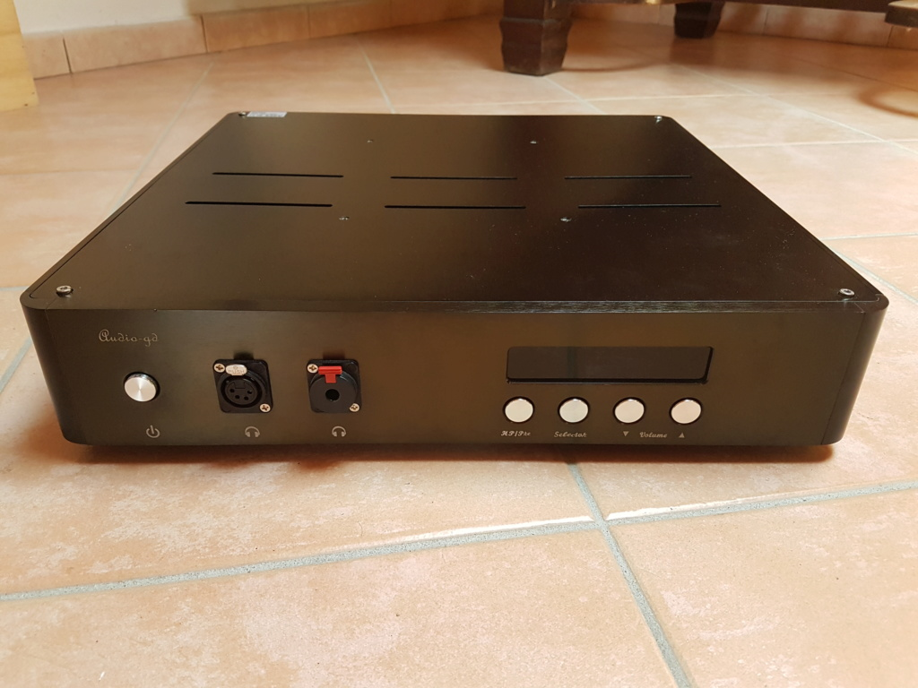 [AL] Audio-gd NFB-27 Vers. 2014 Amplificatore per cuffie / pre-amplificatore + DAC 20190915