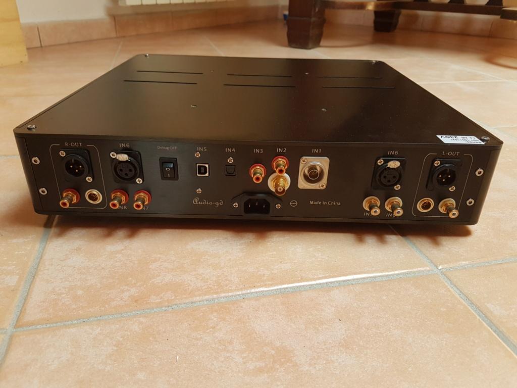 [AL] Audio-gd NFB-27 Vers. 2014 Amplificatore per cuffie / pre-amplificatore + DAC 20190917