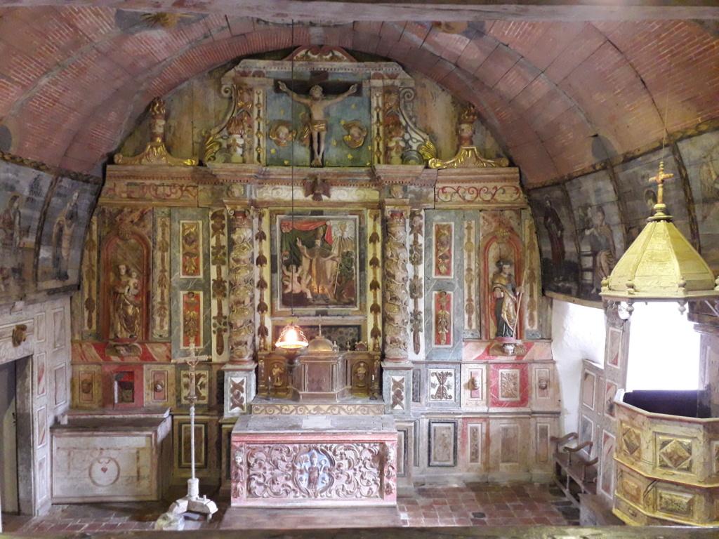 Pays Basque : une église romane pas comme les autres  20180811