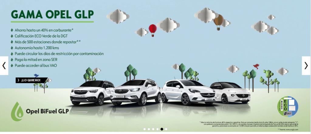 Pasar de diésel a gasolina Opel_g10