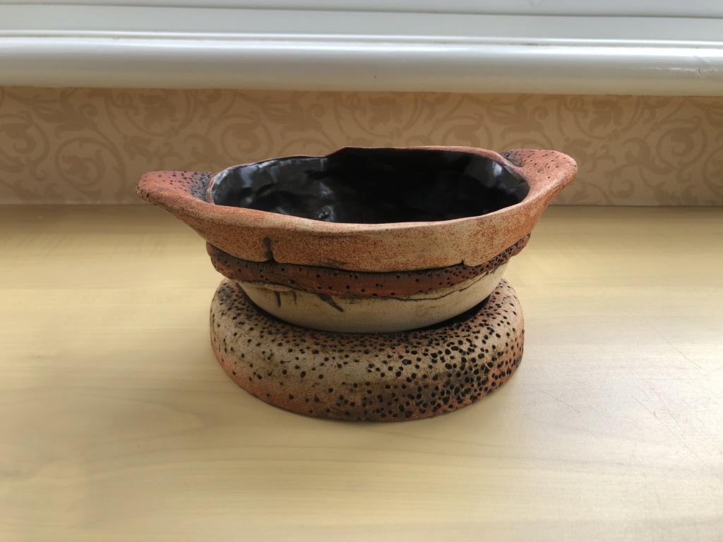 Please help iD Alan Wallwork or Bernard Rooke volcanic style ceramic 3364fc10