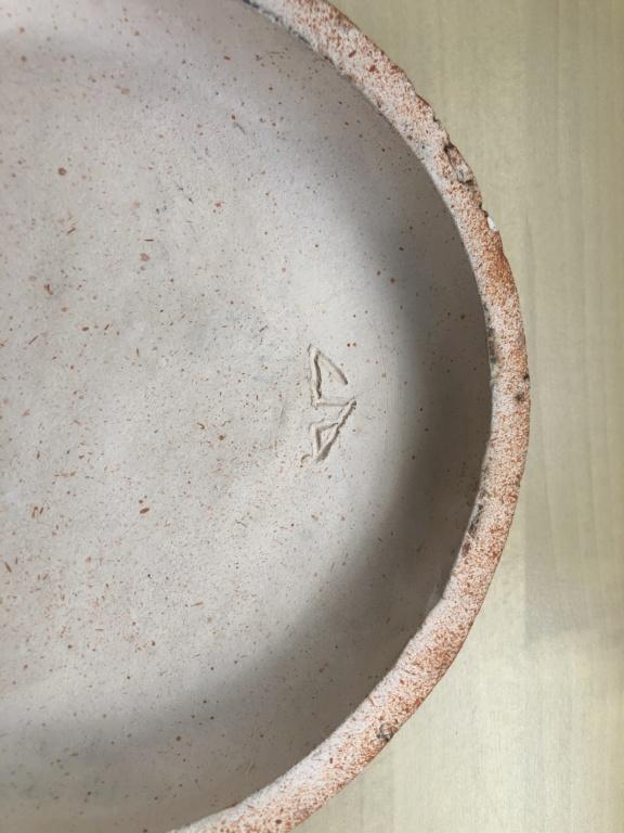Please help iD Alan Wallwork or Bernard Rooke volcanic style ceramic 7b518d10