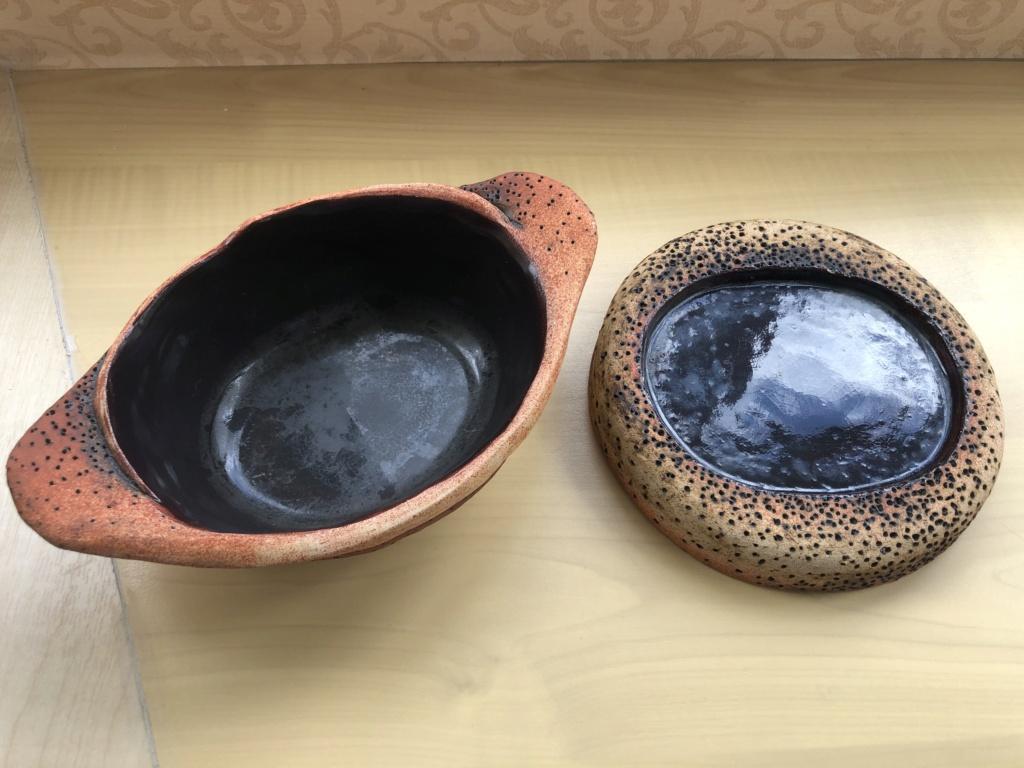 Please help iD Alan Wallwork or Bernard Rooke volcanic style ceramic 96cdf610