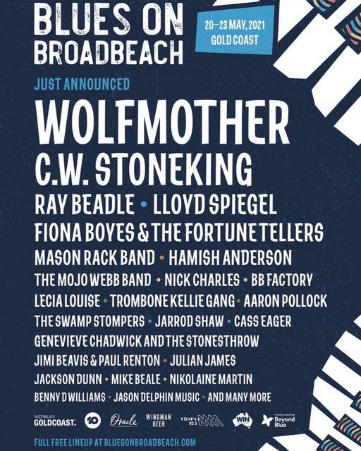 WOLFMOTHER en BILBAO y BARCELONA en Mayo 2022! Wolf10