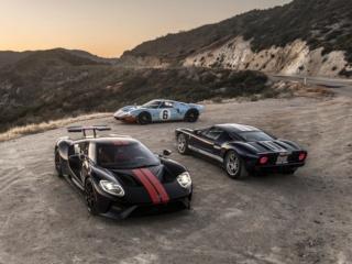 Récapitulatif de la production des Ford GT40 -  Ford GT 2005-2006 et Ford GT 2017+  Ford-g11