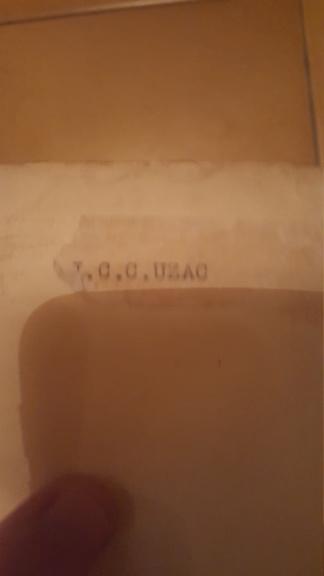 Authentification Archives du Medecin Général J.C.C UZAC (1-2 GM) 20180719