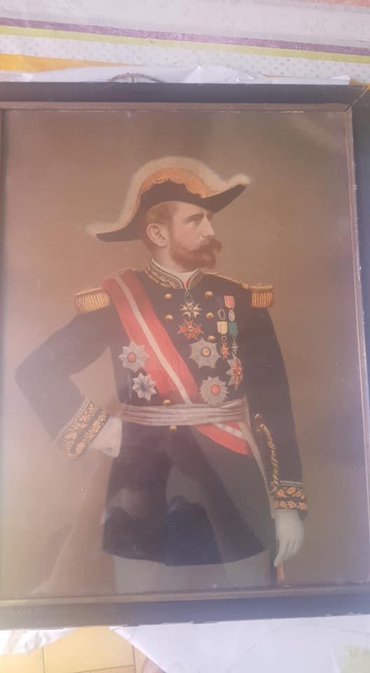 Beau Portrait au Pastel d'un Maréchal, Général décoré ?  37782710