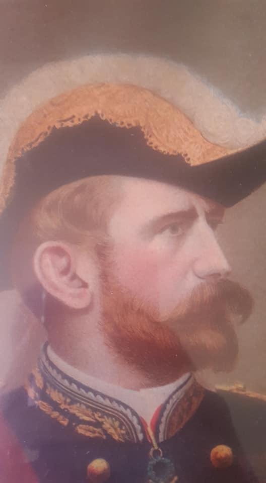 Beau Portrait au Pastel d'un Maréchal, Général décoré ?  38003710