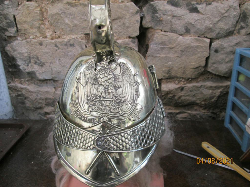 Identification Casque Sapeur Pompier 1852  S-l16010