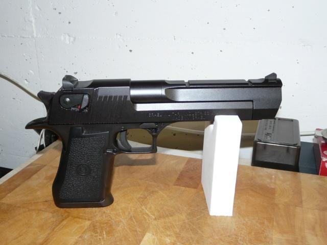 Mon nouveau jouet (attention aux armes ayant peu tiré) De110