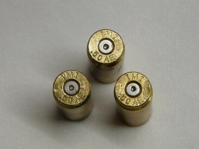 Munition 50 AE rechargées SKH avis aux spécialistes P1090613
