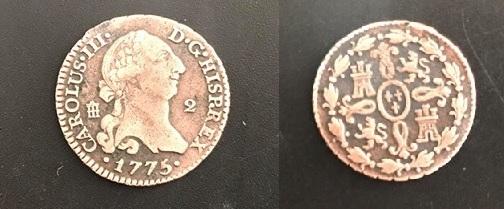 2 Maravedís Carlos III (1775 Segovia) 50914110