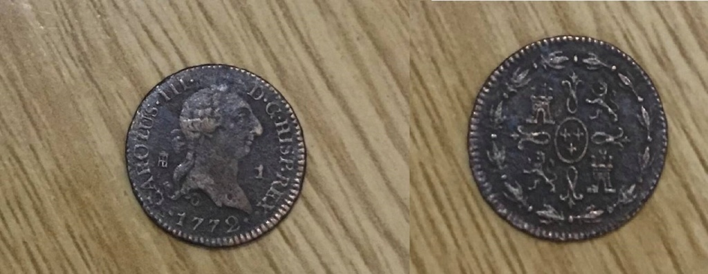 1 Maravedí Carlos III 1772 (Segovia) 51086910