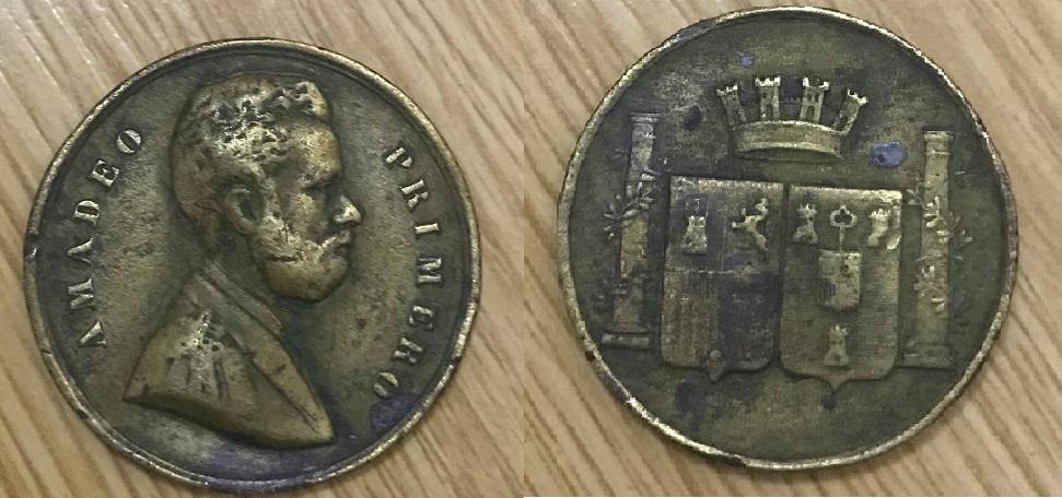 Rara medalla Condecoración de la Habana, Amadeo I. 51090810
