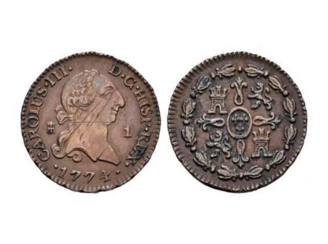 1 Maravedí Carlos III (1774 Segovia)  52605610