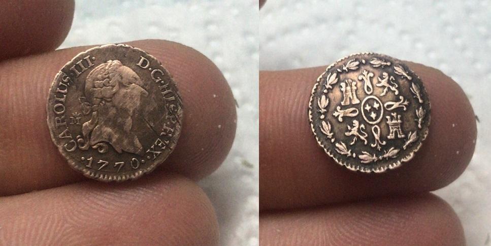 1 Maravedí Carlos III (Madrid 1770) Carlos10