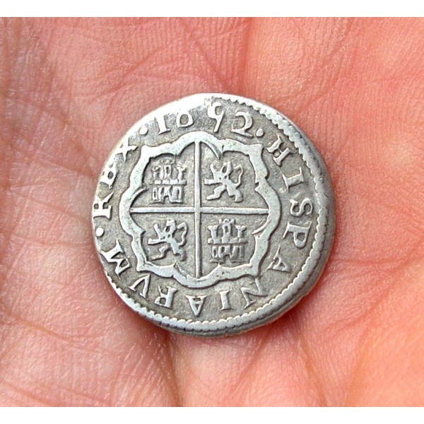 1 Real Felipe IV (1652 Segovia) Real Ingenio. Revers13