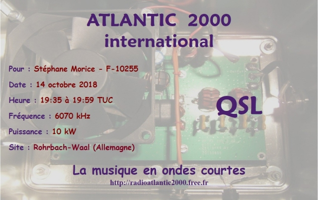 Qsl Atlantic 2000 International Atlant10