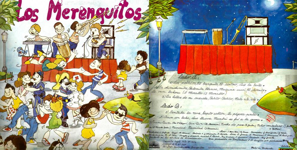 LOS MERENGUITOS VOL.1 (1989) Caratu10