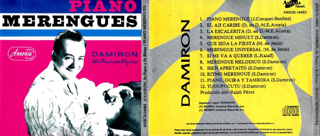 DAMIRON - HIS PIANO AND RHYTM (1999) Damiro10