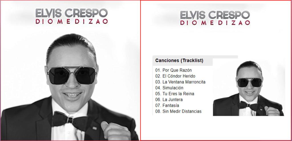 ELVIS CRESPO - DIOMEDIZAO  (2018)  Elvis_10
