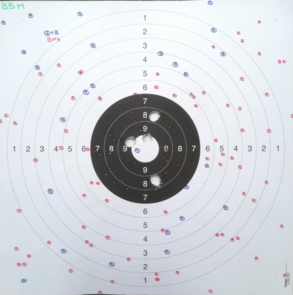 Tir Slugs et plombs n° 2 et 4 avec appui avec IJ 43 Slug 2018-110