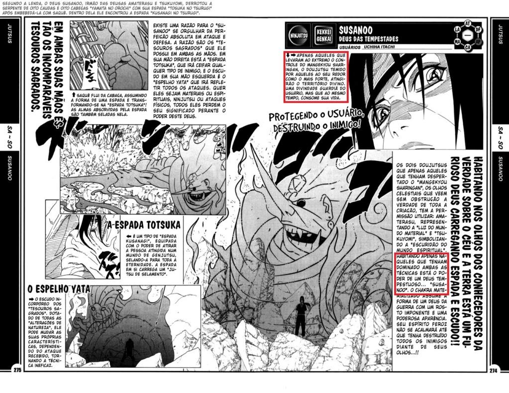 Itachi poderia usar a espada Totsuka e o espelho Yata no Taijutsu? 274-2711
