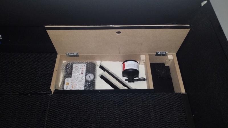 Rangement des câbles : Fabrication d'un double fond de coffre - Page 10 112