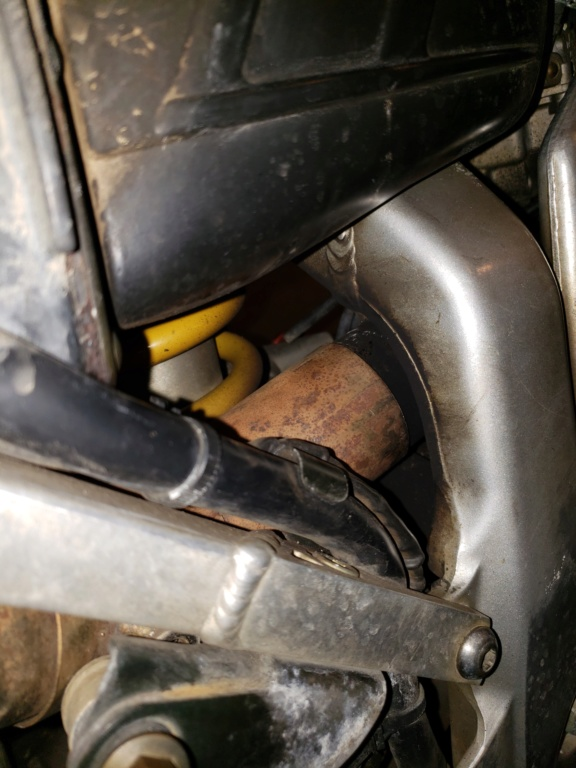 Exhaust working itself loose 20190312