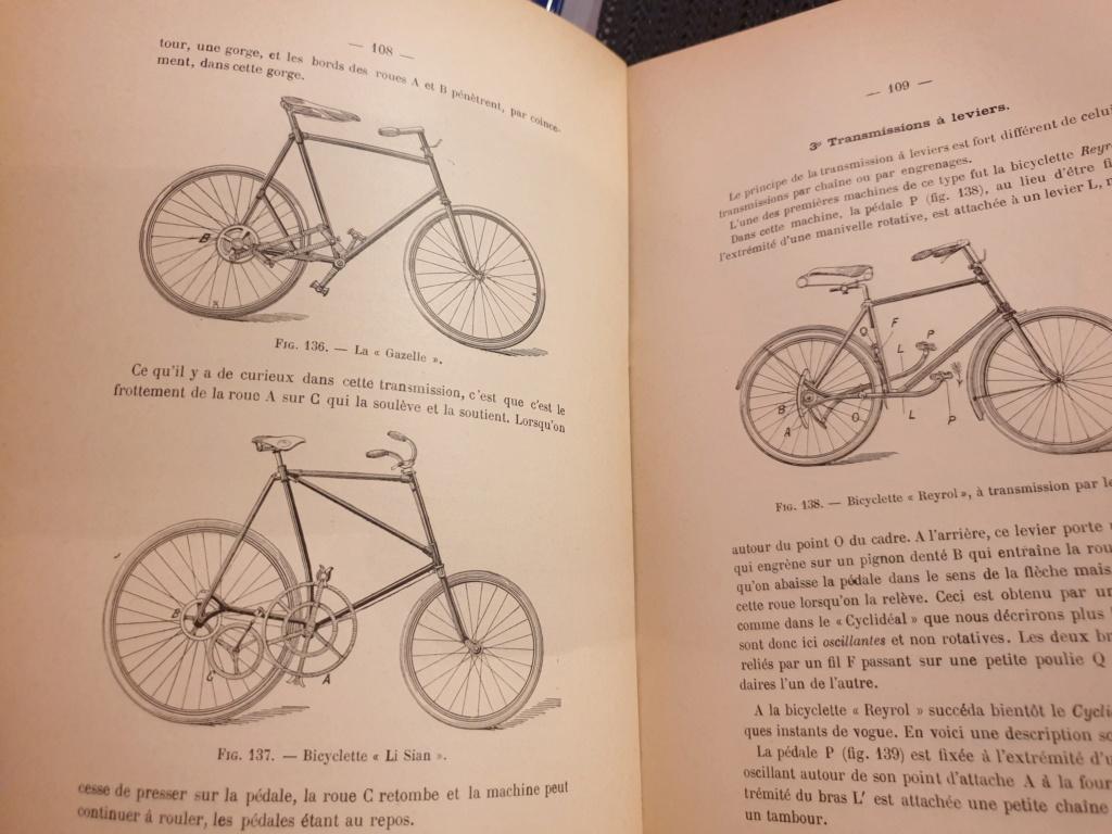 """La bicyclette, sa construction, sa forme"" 1899, C. Borlet 20190325"